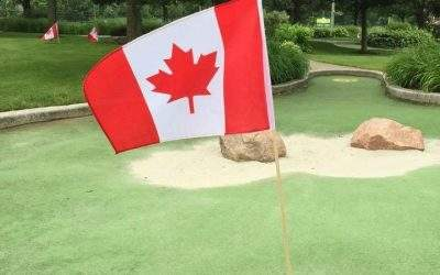 "Join us from 9 to 9 daily, including the holiday! We've got some Canada Day surprises for the ""hole"" family!"